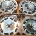 Комплект новых колесных дисков для бронированных автомобилей S-класс W222 VR9, майбах W222 VR10, пульман W222 VR9, A2224014600 7x15 диски кованные, дизайн 10-отверстий, код R56, A2224014600 7x15.