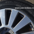 Зимние бронированные колеса для Ауди А8 4E4601020, зимние колёса в сборе для бронированного автомобиля Audi A8, Michelin Pilot Alpin PAX 245/700 R470 AC, бронированные колеса на Ауди А8 D3 мишелин пилот 245 700 r470, бронированные колеса на Audi