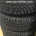 Зимние бронированные колеса с шипами для БМВ F03 Michelin 245 710 R490, 36112288587, зимние колёса в сборе для бронированного автомобиля BMW, Michelin Pilot Alpin PAX 245 710 R490, бронированные колеса на БМВ F03, бронированные колеса BMW F03 245 710 R490